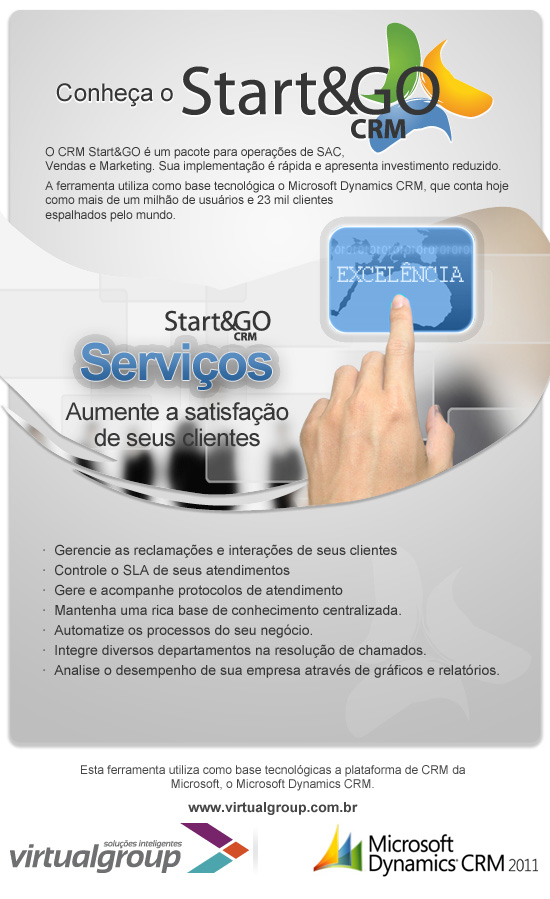Start&GO CRM - Serviço - SAC
